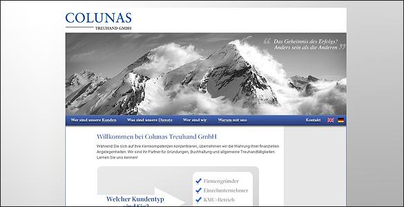 Colunas Website