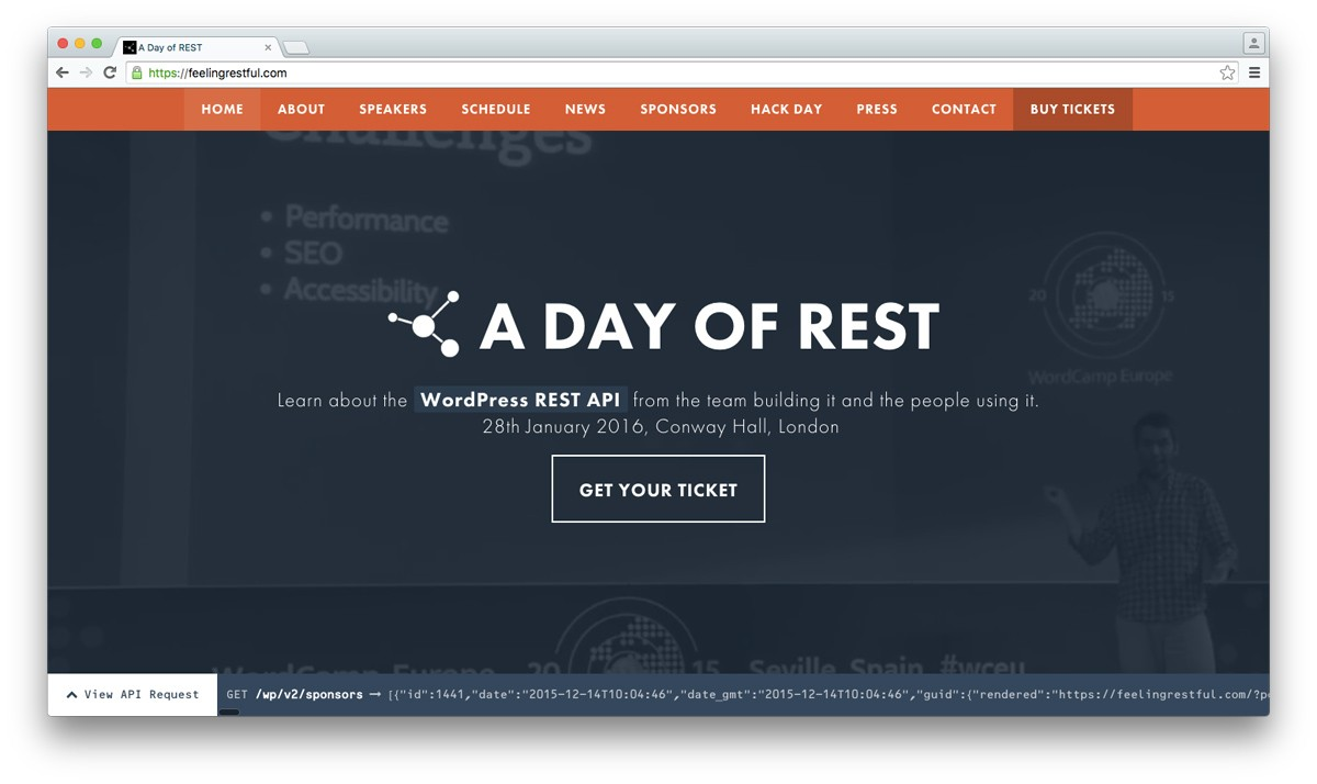 REST API React WordPress